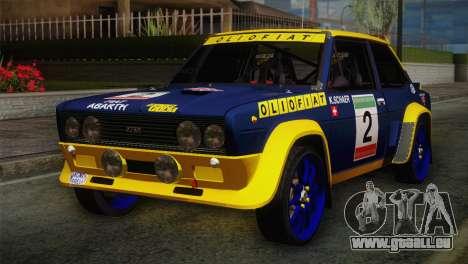 Fiat Abarth Sport Edition für GTA San Andreas