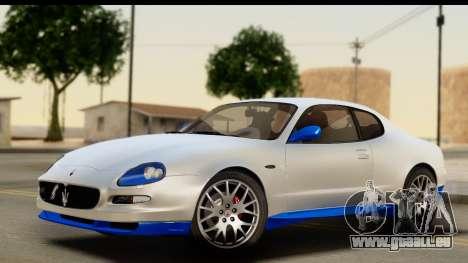Maserati Gransport 2006 für GTA San Andreas obere Ansicht