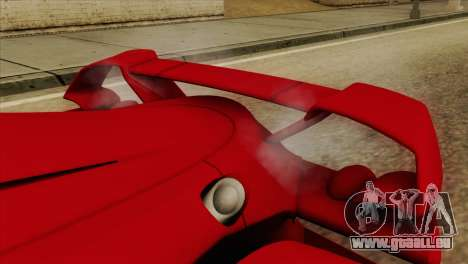 Tramontana XTR für GTA San Andreas Rückansicht