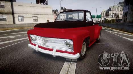 GTA V Vapid Slamvan pour GTA 4