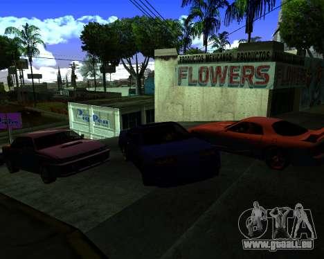 Warm California ENB pour GTA San Andreas troisième écran