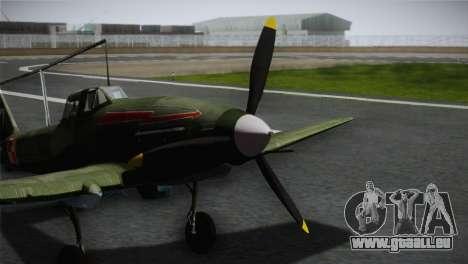 ИЛ-10 de la Marine polonaise pour GTA San Andreas vue arrière