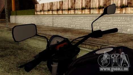 Kawasaki ER-6N 2010 für GTA San Andreas rechten Ansicht