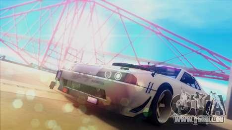Elegy Undercover pour GTA San Andreas laissé vue
