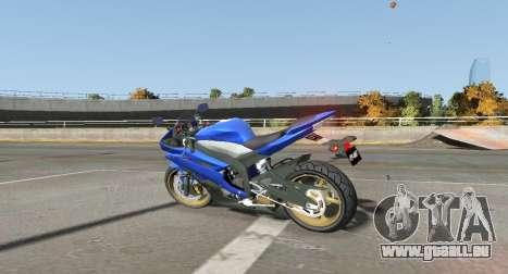 YZF R6 für GTA 4 linke Ansicht