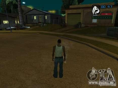 CLEO HP en chiffres pour GTA San Andreas deuxième écran