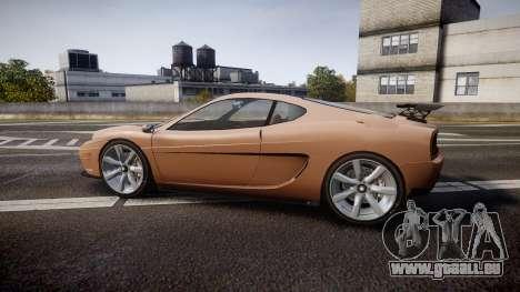 Grotti Turismo GT Carbon pour GTA 4 est une gauche