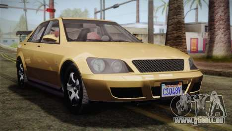 GTA 5 Karin Sultan pour GTA San Andreas