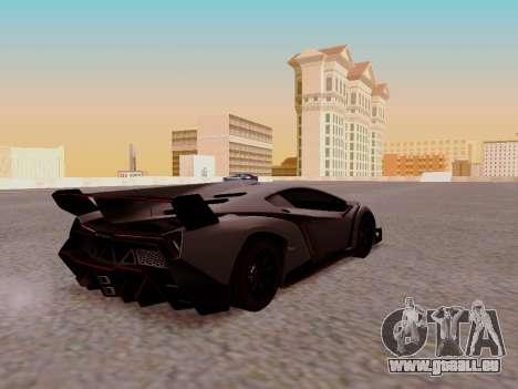 Lamborghini Veneno für GTA San Andreas rechten Ansicht