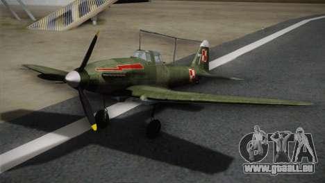 ИЛ-10 de la Marine polonaise pour GTA San Andreas