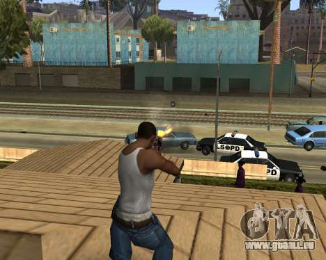 M4A1-S Syrex CS:GO für GTA San Andreas her Screenshot