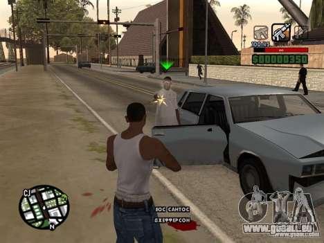 CLEO HP en chiffres pour GTA San Andreas troisième écran