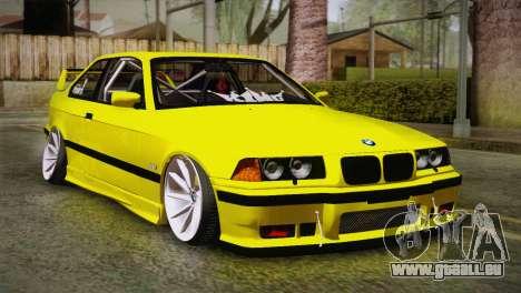 BMW M3 E36 DRY Garage pour GTA San Andreas
