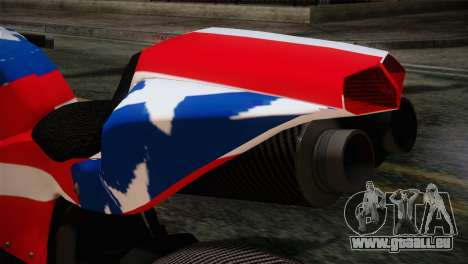 GTA 5 Bati American für GTA San Andreas Rückansicht