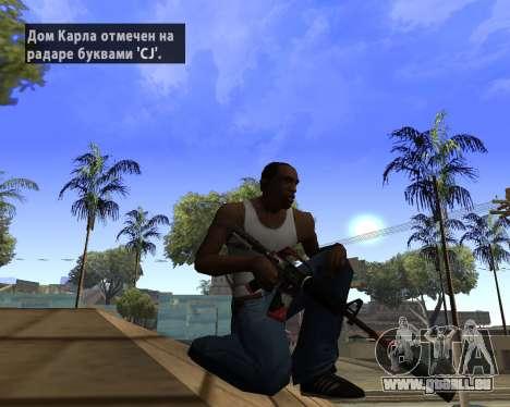 M4A1-S Syrex CS:GO für GTA San Andreas zweiten Screenshot