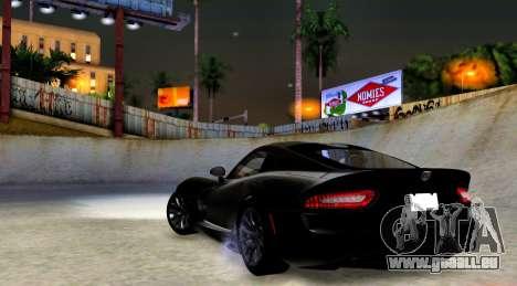 ENB Chaux HD pour PC moyen pour GTA San Andreas troisième écran
