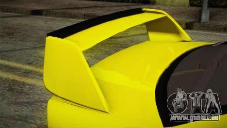 BMW M3 E36 DRY Garage pour GTA San Andreas vue de droite