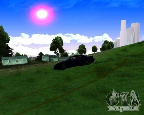 Warm California ENB pour GTA San Andreas cinquième écran