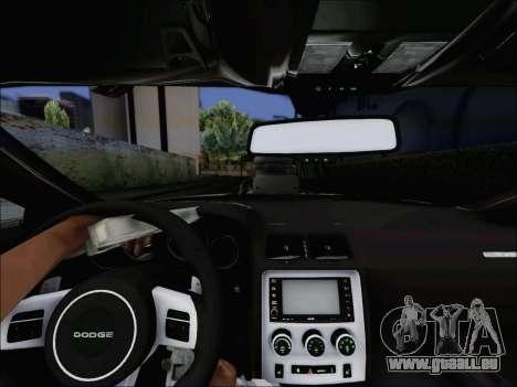 Dodge Challenger SRT8 Hemi Drag Tuning pour GTA San Andreas vue de droite