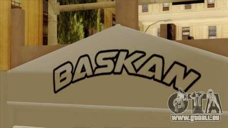 Mercedes-Benz Atego Hal Kamyonu pour GTA San Andreas vue arrière