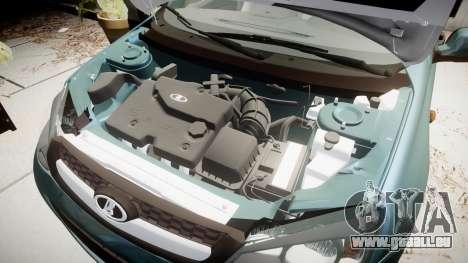 VAZ-2194 Lada Kalina 2 rims2 pour GTA 4 Vue arrière