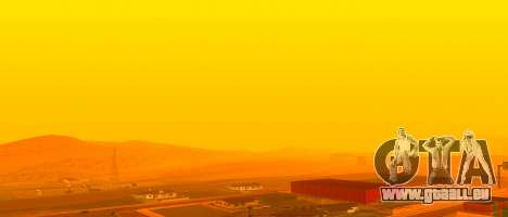 Lumineux Colormod pour GTA San Andreas quatrième écran