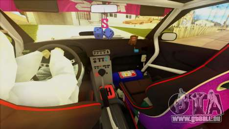 Elegy Undercover pour GTA San Andreas vue de dessous