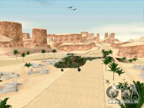 Mi-8 pour GTA San Andreas vue intérieure