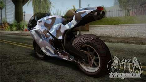 GTA 5 Bati Blue pour GTA San Andreas laissé vue