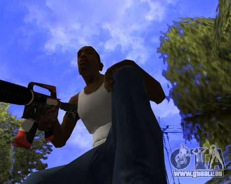 M4A1-S Syrex CS:GO für GTA San Andreas fünften Screenshot