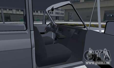 Aro 328 für GTA San Andreas obere Ansicht