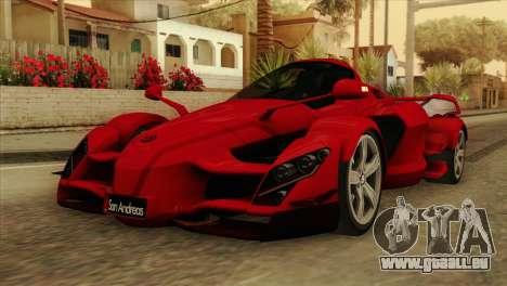 Tramontana XTR für GTA San Andreas