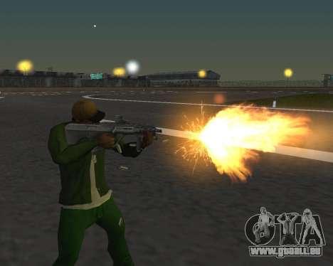 De beaux clichés à partir d'armes pour GTA San Andreas troisième écran