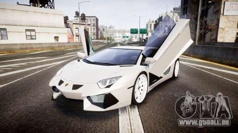 Lamborghini Aventador Hamann Limited 2014 [EPM] pour GTA 4