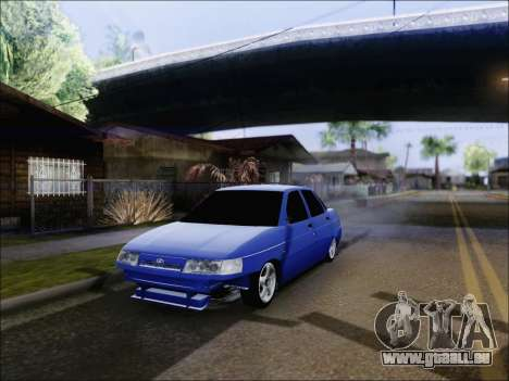 VAZ 2110 БПАN de Kemerovo pour GTA San Andreas