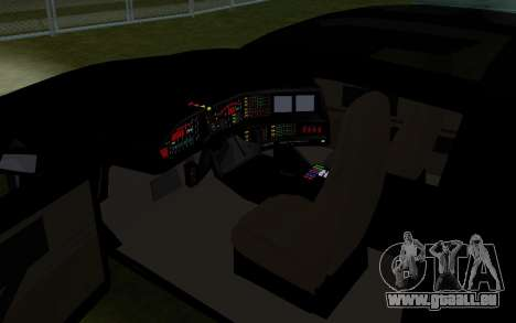 K.i.T.T. 2000 für GTA San Andreas Rückansicht