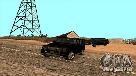 Mercedes-Benz G55 für GTA San Andreas