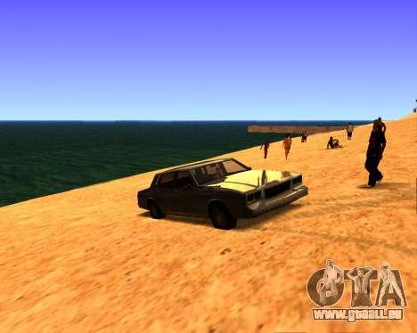 ENB v3.0.0 pour les faibles PC pour GTA San Andreas troisième écran