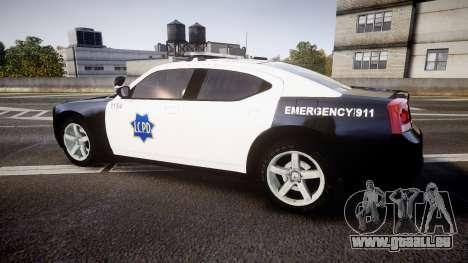 Dodge Charger 2010 LCPD [ELS] pour GTA 4 est une gauche