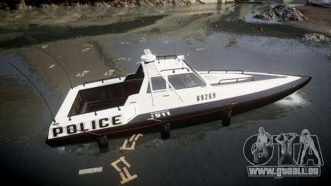GTA V Police Predator [Fixed] für GTA 4 linke Ansicht