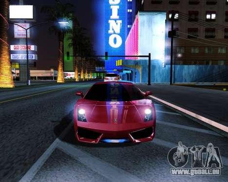 ENB plus pour GTA San Andreas deuxième écran