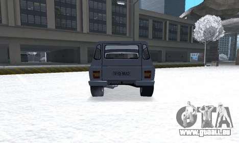 Aro 328 für GTA San Andreas Rückansicht