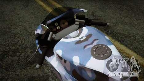 GTA 5 Bati Blue pour GTA San Andreas vue de droite