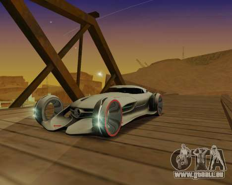 Mercedes-Benz Silver Arrows für GTA San Andreas