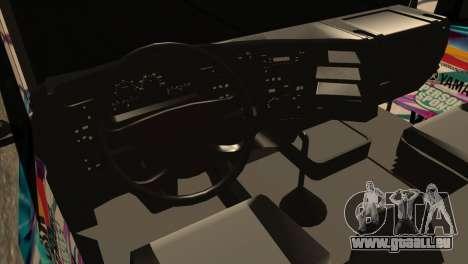 Scania 124G R400 Hatsune Miku Livery pour GTA San Andreas vue de droite