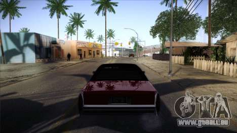 Ghetto ENB v2 pour GTA San Andreas deuxième écran
