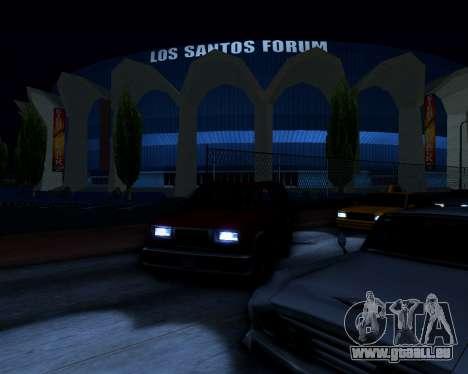 ENB v3.0.1 pour GTA San Andreas troisième écran