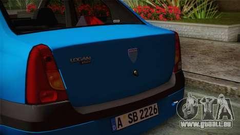 Dacia Logan 2006 für GTA San Andreas rechten Ansicht