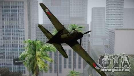 ИЛ-10 Tschechische Luftwaffe für GTA San Andreas Rückansicht