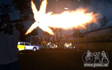 IMFX Gunflash für GTA San Andreas